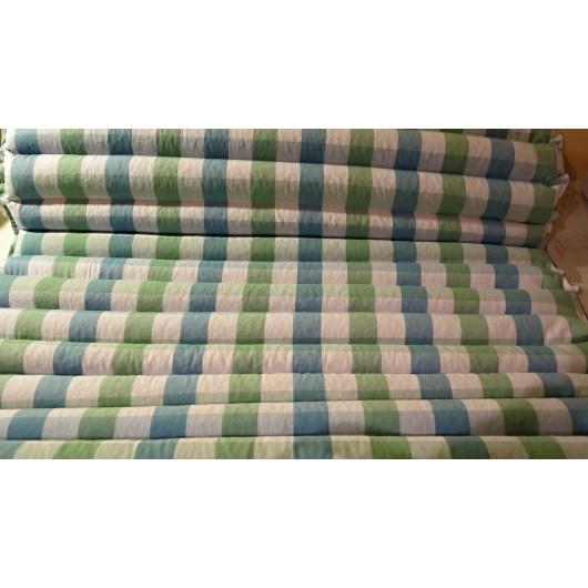 pohanková žíněnka-futon 90 x 200cm český kanafas, pastelová
