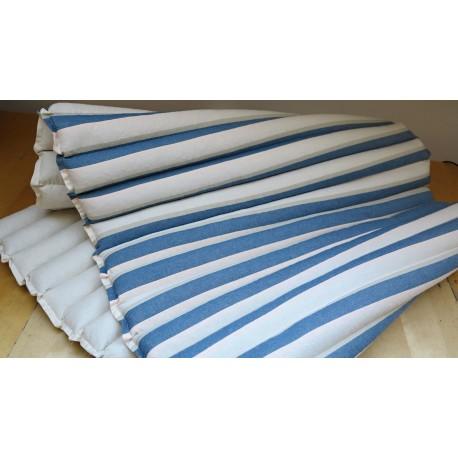 pohanková žíněnka-futon kanafas režná/džínová/béžová/růžová 80 x 200cm