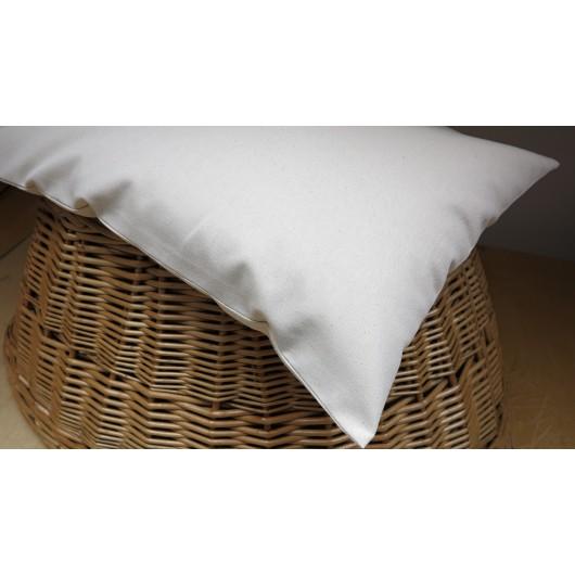 Pohankový polštář nebo i sedák VELKÝ 50x30 cm režný přírodní