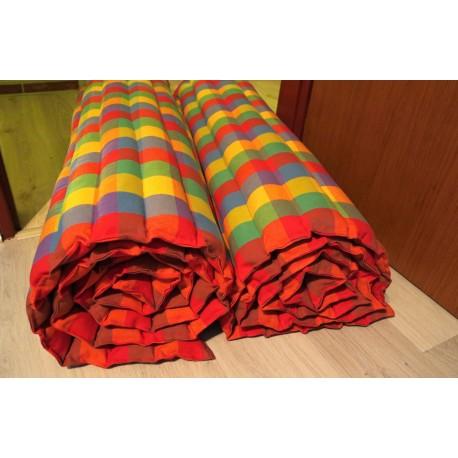 pohanková žíněnka-futon 100 x 200cm šapitó kostka